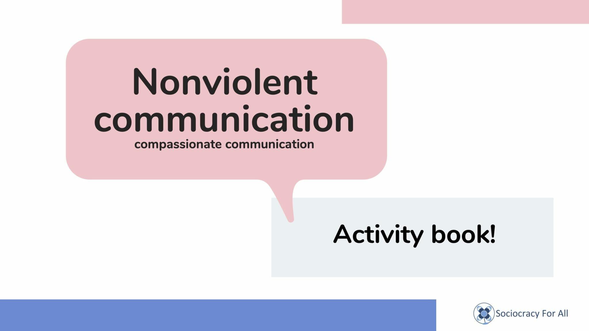 NVC activity book